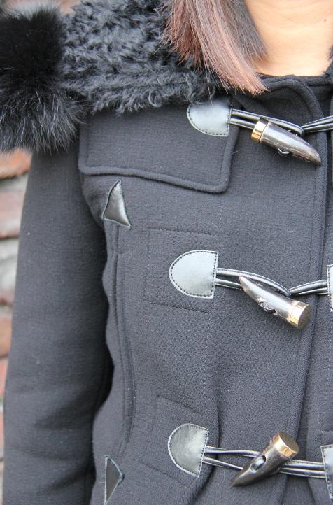 altuzarra coat with faux horn toggles