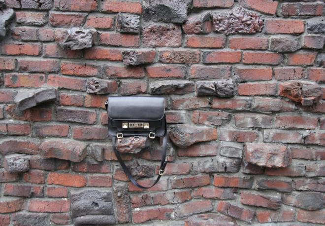 my beloved Proenza Schouler PS11 black classic bag