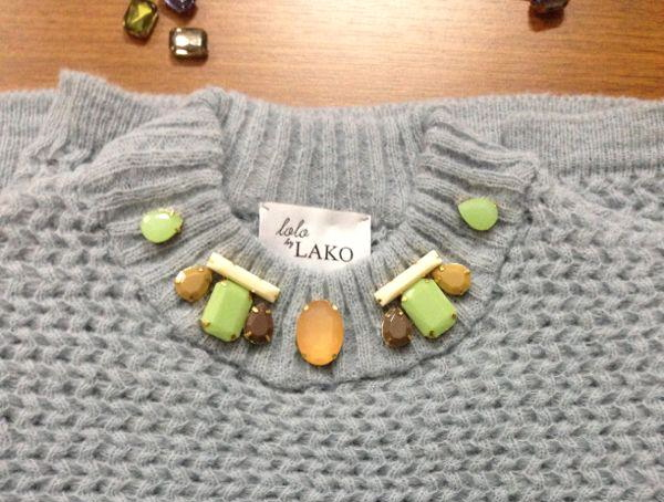 my lolo by lako custom knit sweater