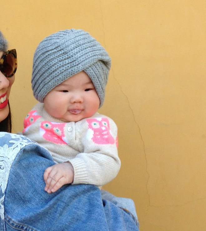 sara kids knit turban