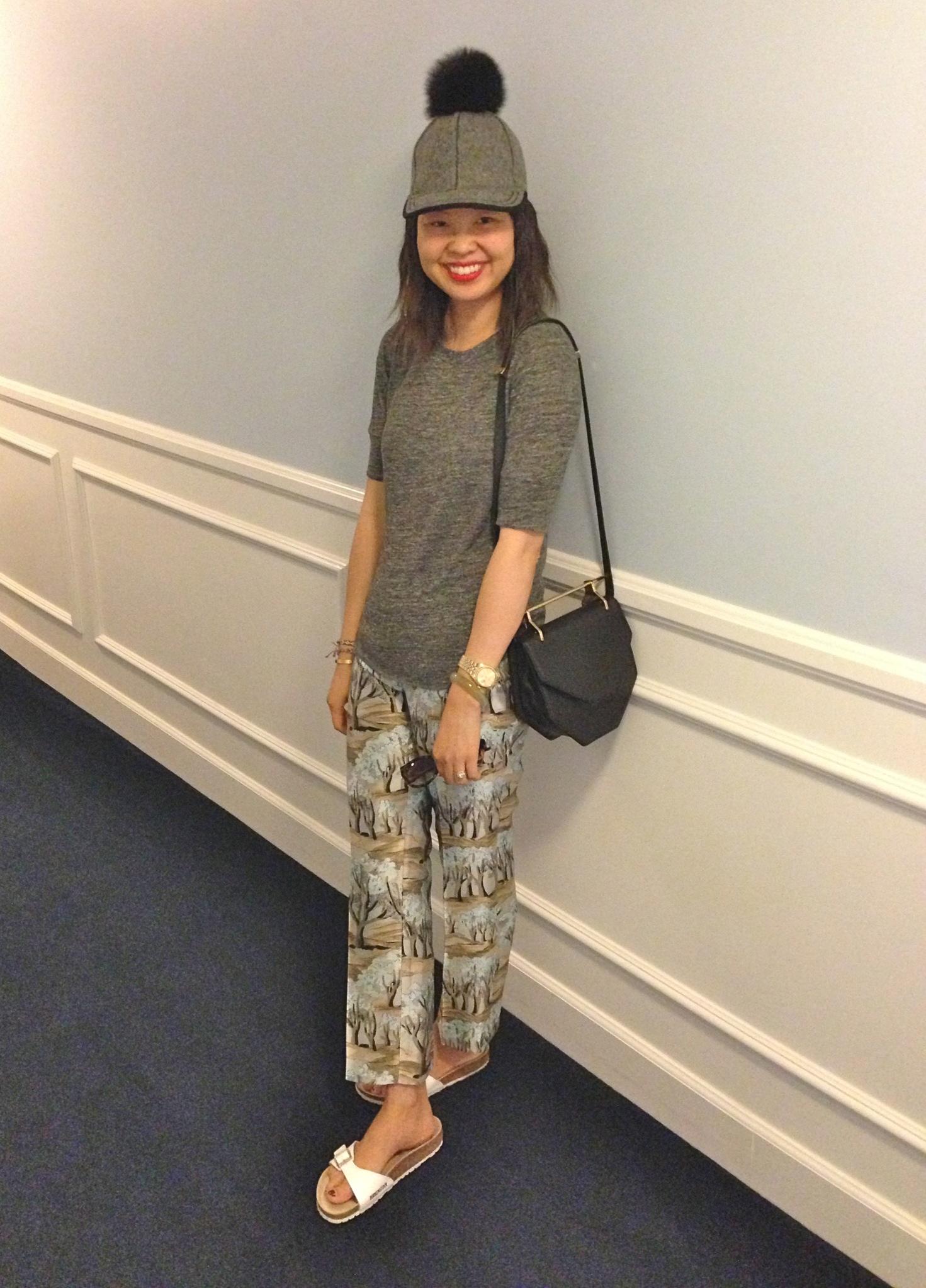 lola hats thumper pom cap. distracted. hallway at mr c s hotel 031c715a61f