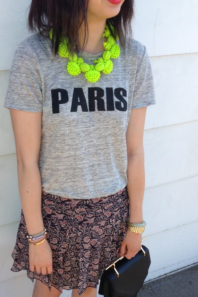 ek thongprasert necklace and madewell paris tee
