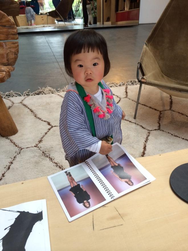 marni viewing the isabel marant lookbook