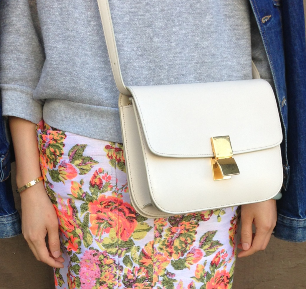 celine box bag in ivory – WHAT HELEN WORE TODAY 50b54ccc3b2f1