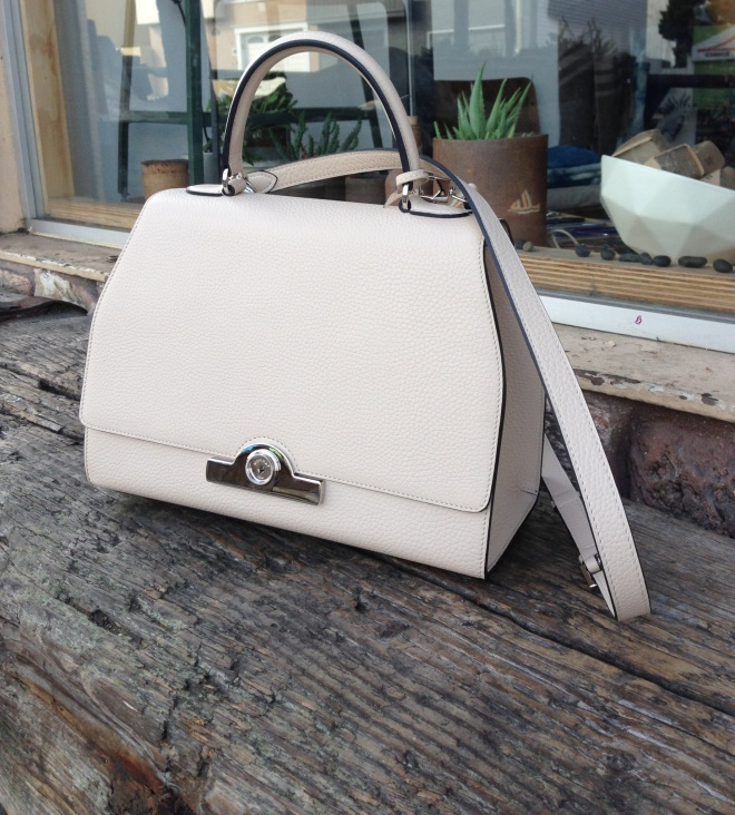 moynat rejane bag in greige