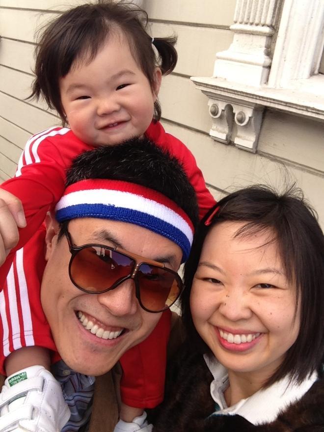halloween 2014 family selfie