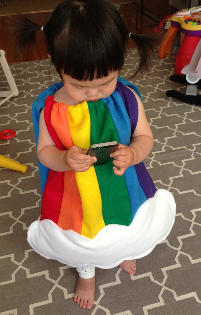 baby rainbow halloween costume