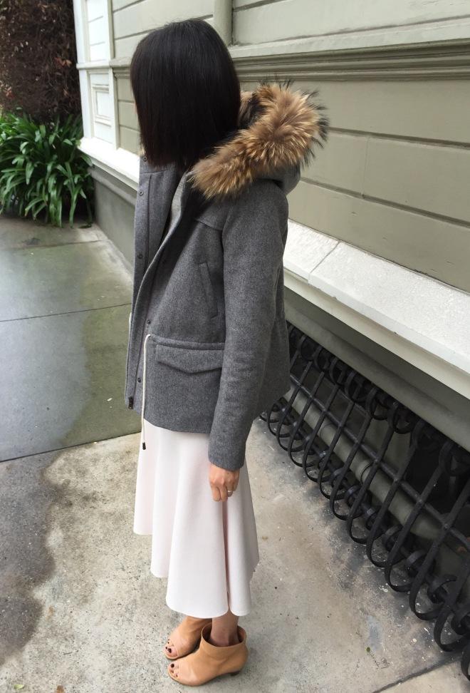 the row skirt