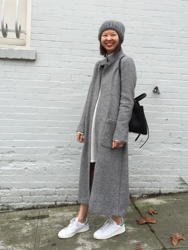 Zara extra long coat