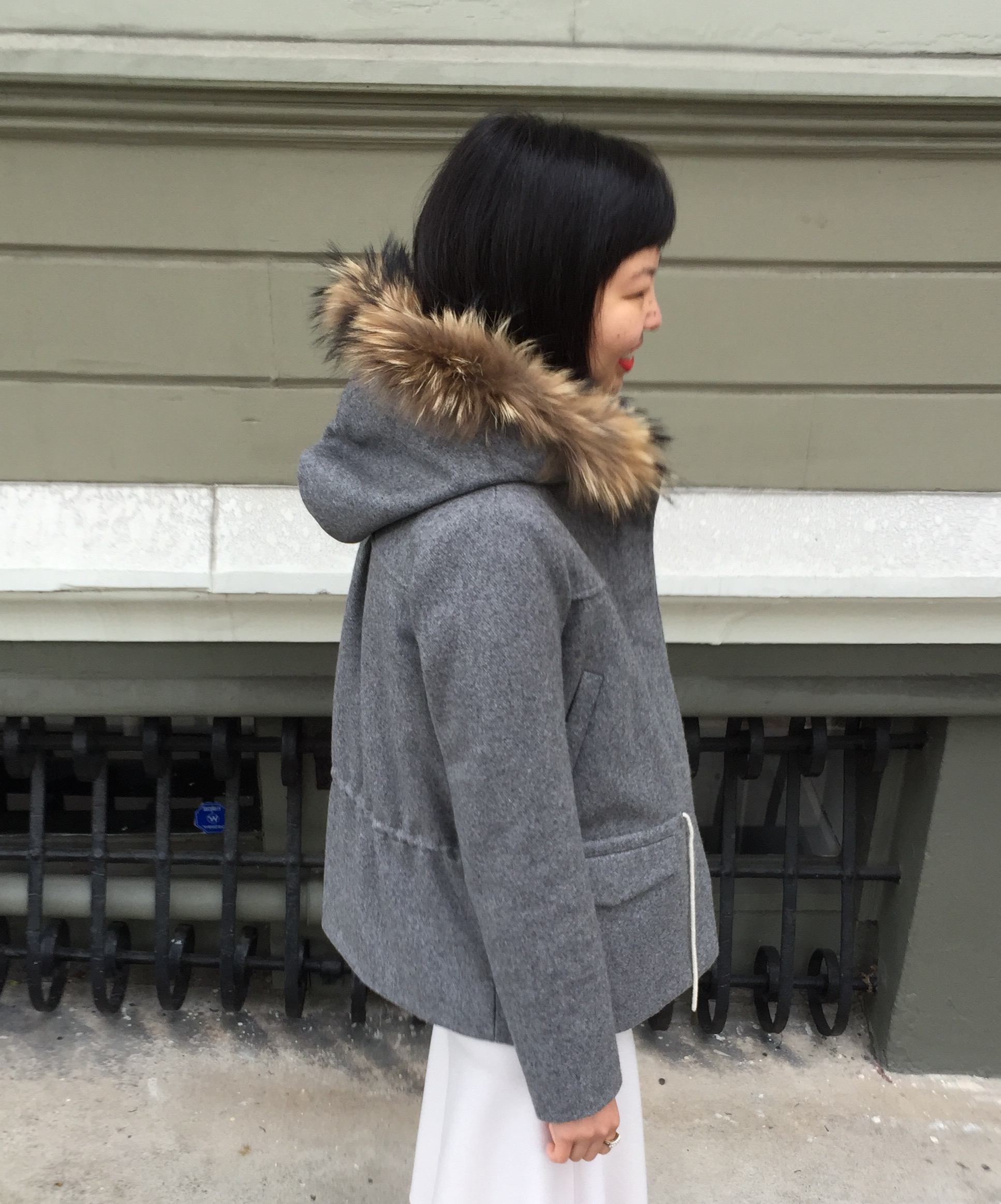 the row – WHAT HELEN WORE TODAY