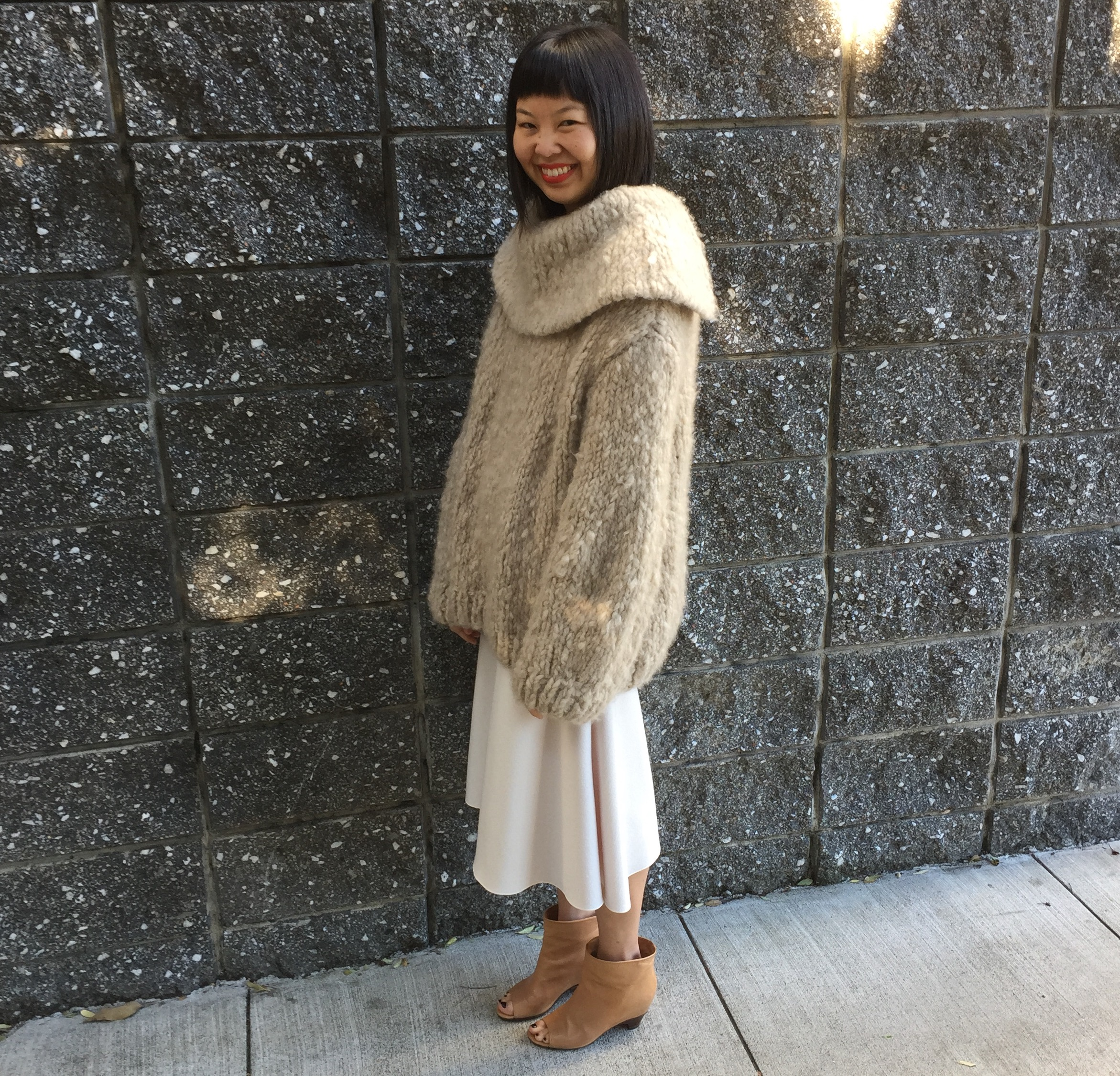 4dbc6ceae4be sweater and skirt by the row ...