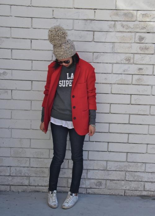 bobble pom hat by stepcat