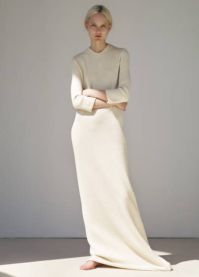 Celine RTW SS15 long knit dress