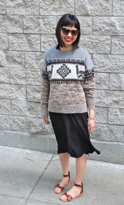 etoile by isabel marant remington sweater and black flint dress