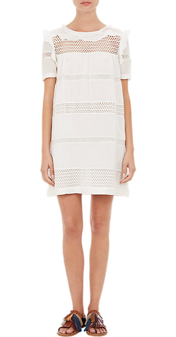 etoile by isabel marant ruffled caleen dress