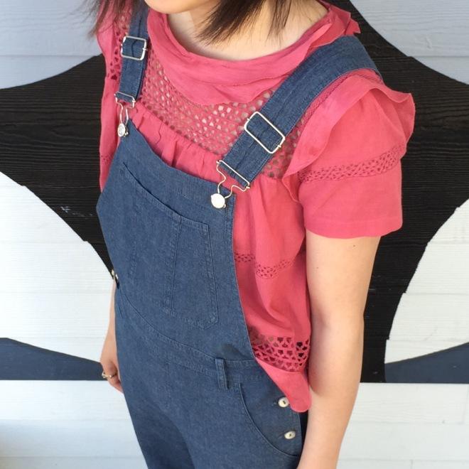 Etoile by Isabel Marant cole blouse details