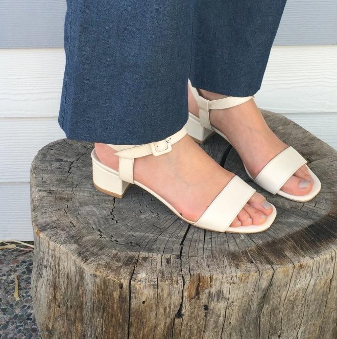 maryam nassir zadeh sophie sandals in ivory