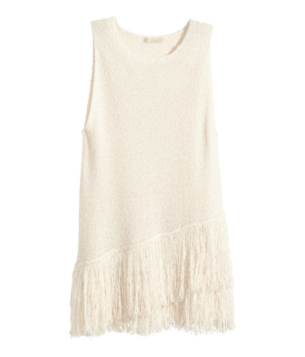 H&M Trend fringed top